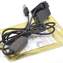 USB ACK-E5 Мобильный Внешний аккумулятор зарядное устройство кабель+ LP-E5 LPE5 манекен батарея DR-E5 DC муфта для Canon EOS 450D 500D 1000D XS XSi T1i