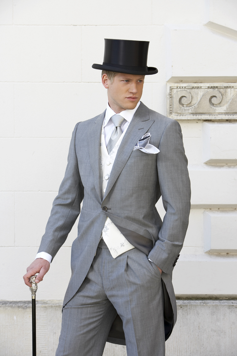 Custom Made To Measure Morning Suits , 2015 Light Grey Single ...