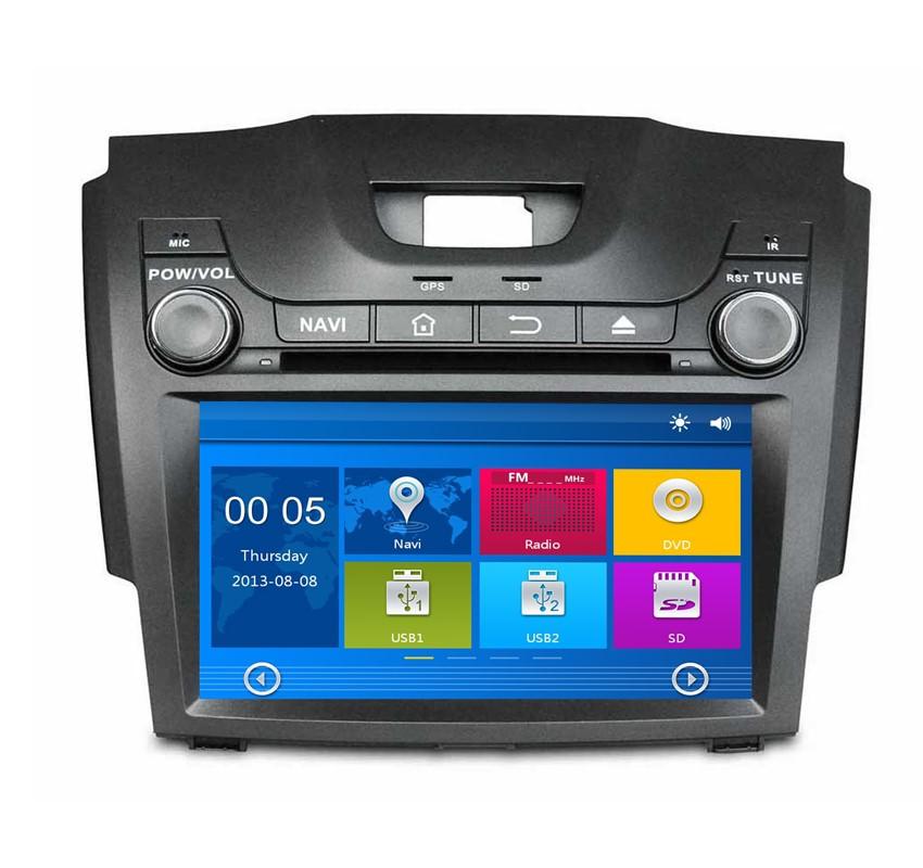Portland Blazers Radio: 8 Inch 2 Din Car DVD Player For Chevrolet S10/Trail Blazer