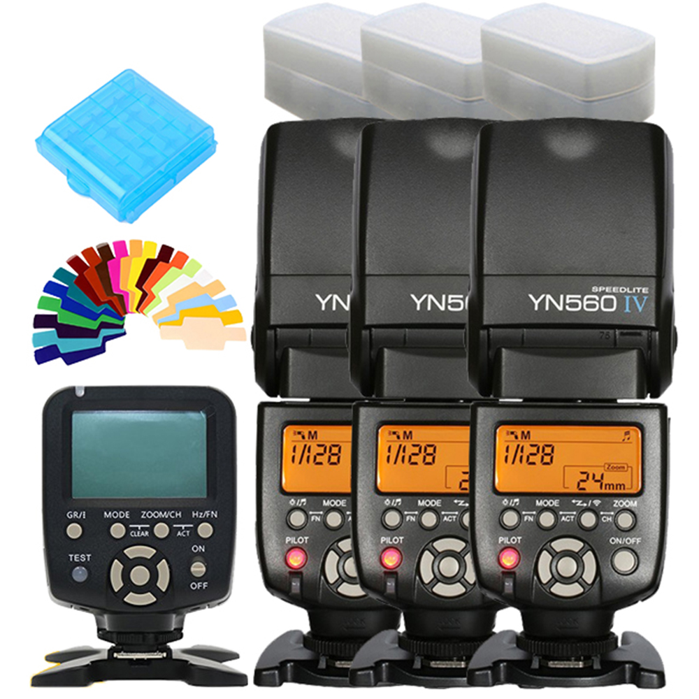 YONGNUO YN560IV YN-560 IV YN560-IV YN560 IV X3+ YN-560 TX YN560TX For Nikon Canon DSLR Camera Master Speedlite Flash Controller original yongnuo yn560 iv yn 560 iv master radio flash speedlite rf 605 wireless trigger for canon 1000d 650d 600d 550d dslr