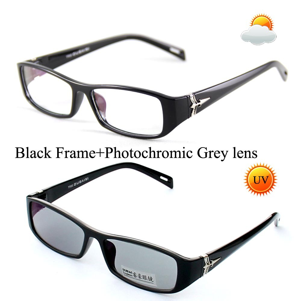 e3c4254ce8 Unisex Photochromic Sunglasses Transition Sun Glasses Eyeglasses TR90 Frame  Oculos de sol Spectcles Color Lens Shade Point Read