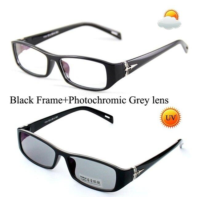 Unisex gafas de sol fotocromáticos transición gafas de sol lentes ...
