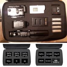 Bolsa de armazenamento viagem para sony, x1000 x1000v x3000 as300 as50 as15 as20 as30 as100 as200 az1 mini pov câmera digital de ação,