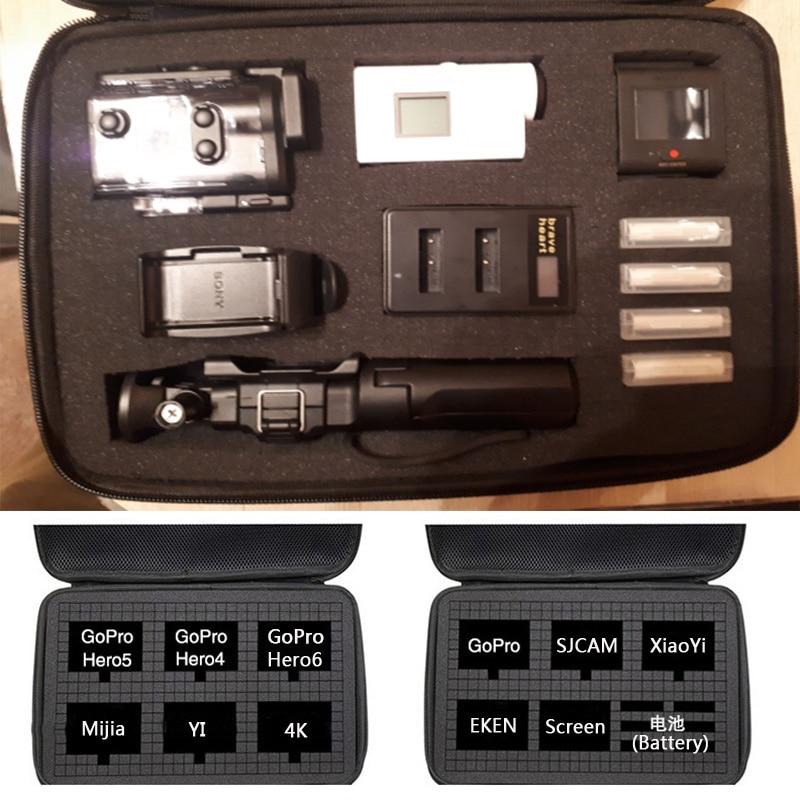 New Travel Bag Storage Case For Sony X1000 X1000V X3000 AS300 AS50 AS15 AS20 AS30 AS100 AS200 AZ1 Mini POV Action Digital Camera