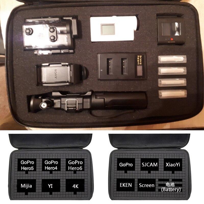Nueva bolsa de viaje caja de almacenamiento para Sony X1000 X1000V X3000 AS300 AS50 AS15 AS20 AS30 AS100 AS200 AZ1 mini POV acción cámara Digital