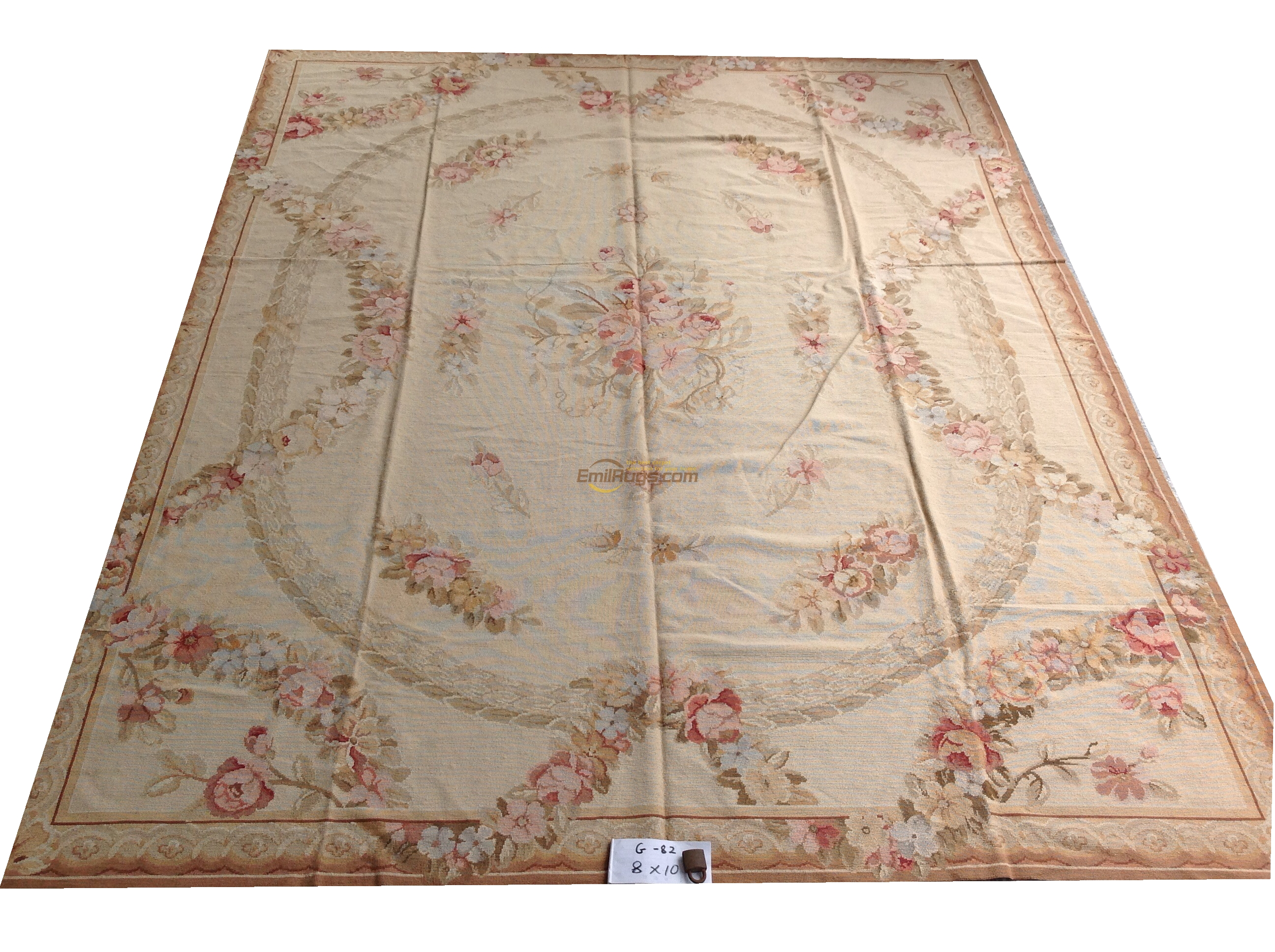 Tappeti Aubusson Vintage Us 1523 2 100 Wool Hand Stitched Needlepoint Carpets Needleopint Rugs 244cmx305cm 8 X 10 Palace Aubusson Pattern Rose Gc8nee68 In Carpet From