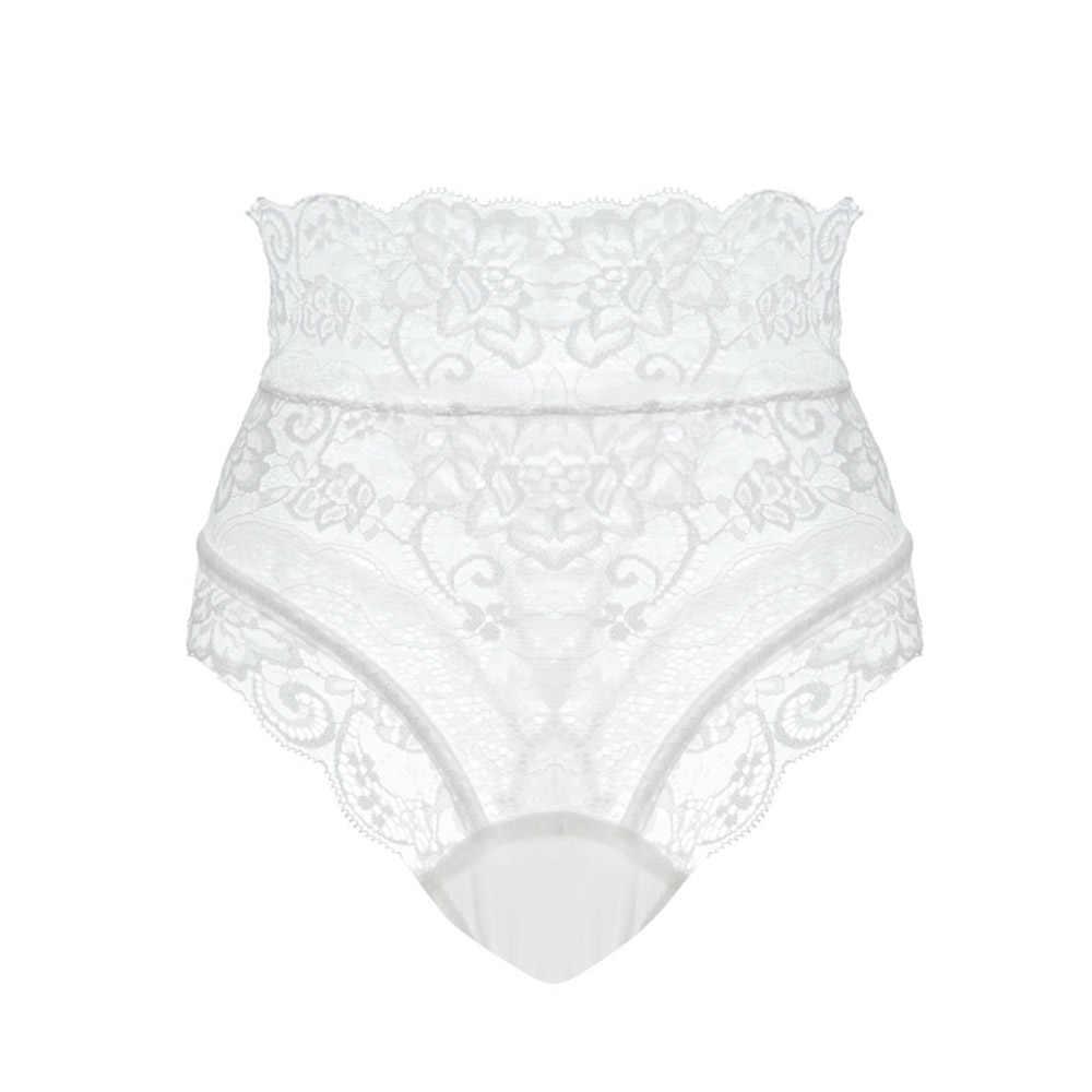 Increíbles sensuales braguitas de mujer de cintura alta de encaje tangas y G Strings ropa interior para mujeres ahueca hacia fuera los calzoncillos imitación de lencería femenina