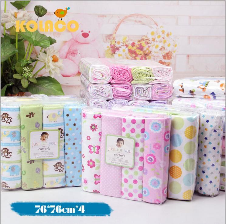 4pcs Baby Bedding Set Cute Printing Crib <font><b>Sheet</b></font> Multi-Functional Baby blanket cotton swaddle Kids <font><b>Sheets</b></font> Bed Crib Single <font><b>Sheets</b></font>