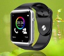 Freies verschiffen armbanduhr bluetooth smart watch sport pedometer mit sim kamera smartwatch für android smartphone russland t50