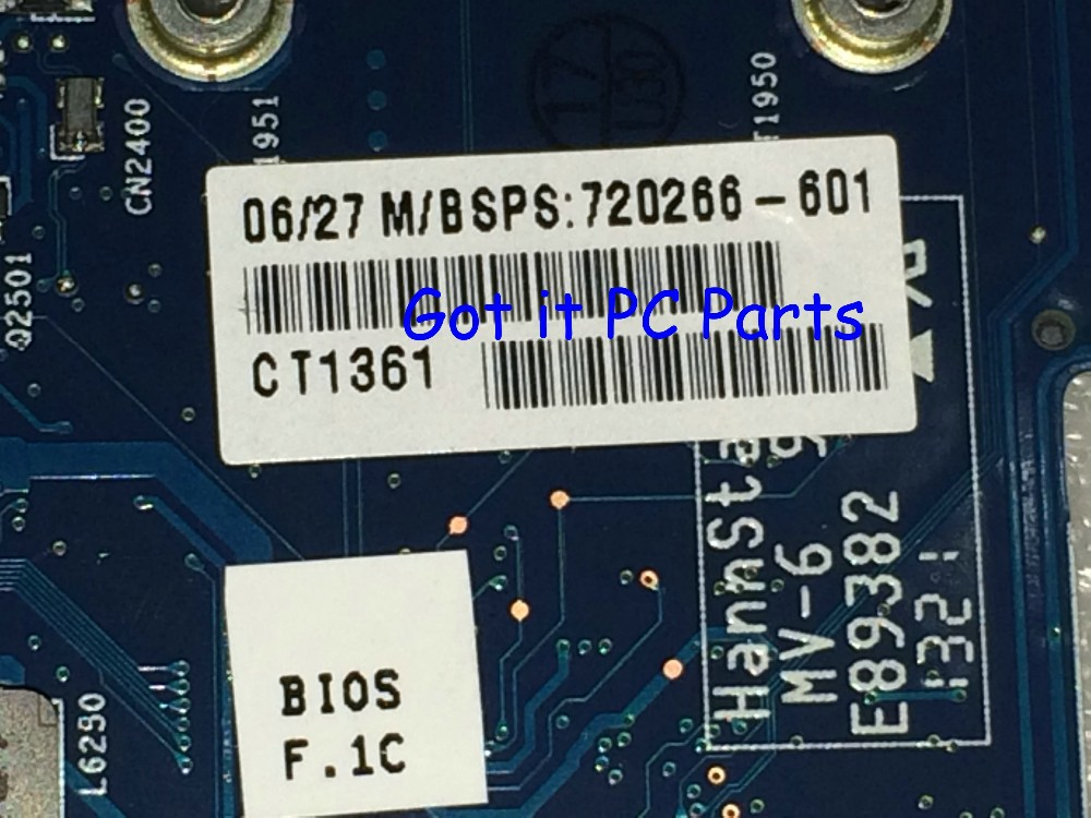 FREE SHIPPING  720266-501 laptop motherboard For HP Envy 17 touchsmart 17 series Notebook PC HM87 740M/2G mainboard