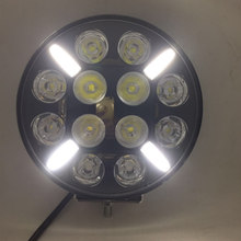YAIT 9 inch 120W Round LED Work Light High Power Combo Led Working Light For 4x4 Offroad ATV UTV Truck Tractor Motorcycle lights