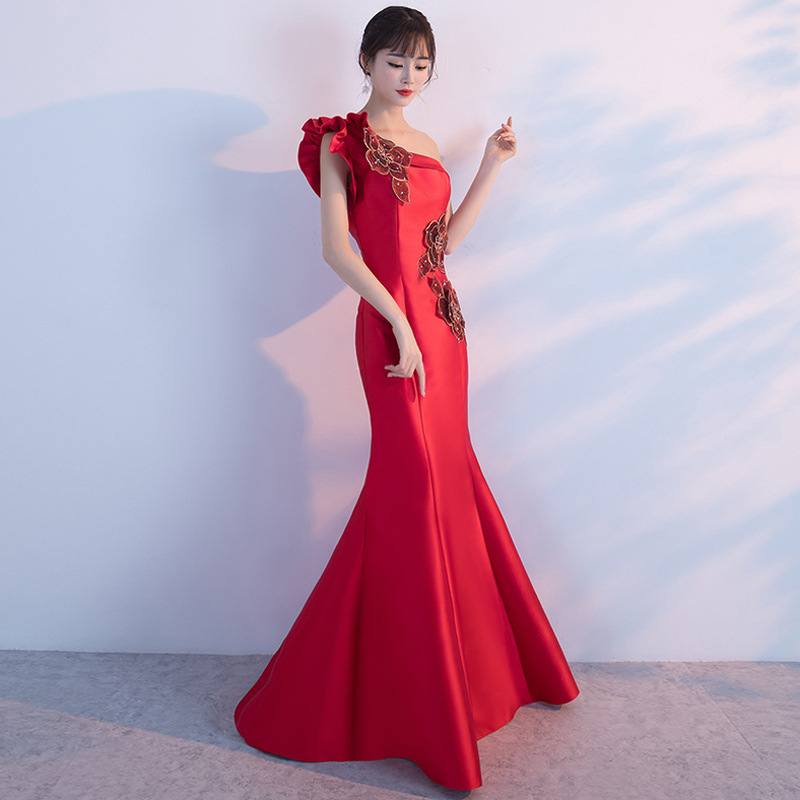 2018 Women Dresses Off the Shoulder Red Floral Vintage Elegant Evening Party Club Wear Sexy Wrap Summer Long Maxi Dress Clothing