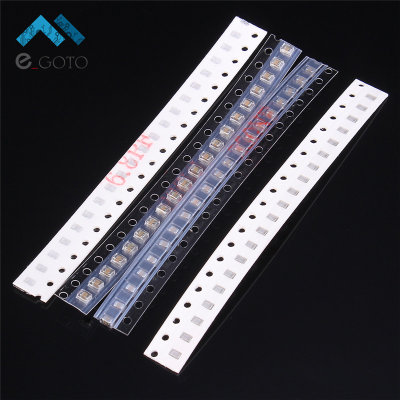 620pcs 31 Kinds 0805 SMD Capacitor Assorted Kits 31 Values 1pF-1uF Electronic Components 100pF 0.1uF 1uF 0805 Chip Capacitors
