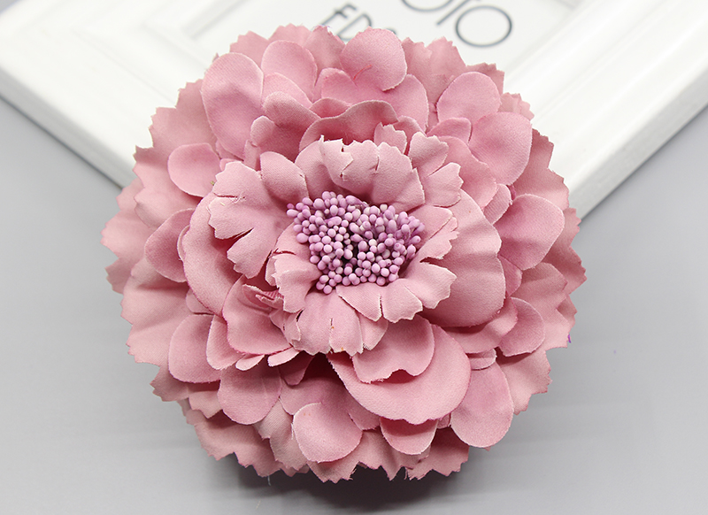2016 trendy Fabric Blooming peony Flower Corsage Brooch woman Hair Decorations & Brooch wedding party Hair Clip Bridal Wedding 2016 trendy fabric blooming peony flower corsage brooch woman hair decorations
