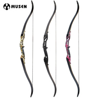 30 50lbs Recurve Bow 56 American Hunting Bow Black Red Camo Camo Archery With 17 Inches