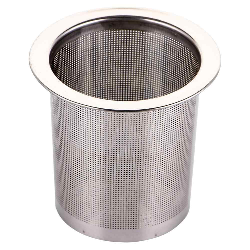 1PC Stainless Steel Mesh Tea Infuser Reusable Infuser  Strainer Loose Tea Leaf Filter for Teapot Drinkware Kitchen Accessories