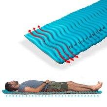 Naturehike открытый сверхлегкий волновой формы ТПУ надувной походный коврик водонепроницаемый коврик для пикника складной матрас NH18C009-D