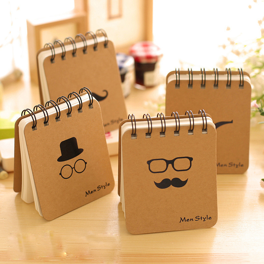 Korean Vocabulary Words Recite Portable Small Notebook Creative Notepad Business Diary Office Gifts