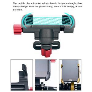 Держатель для мобильного телефона из алюминиевого сплава, подставка для велосипедного мотора, вращающийся регулируемый велосипедный руль для горного велосипеда, крепление с gps