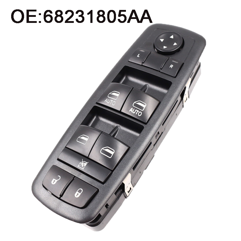 New Power Master Window Switch Fit For Dodge Charger Chrysler 200 300 Ram 4 Door 68231805AA