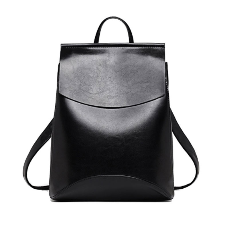 ALCEVR Fashion Women Backpack High Quality Youth Leather