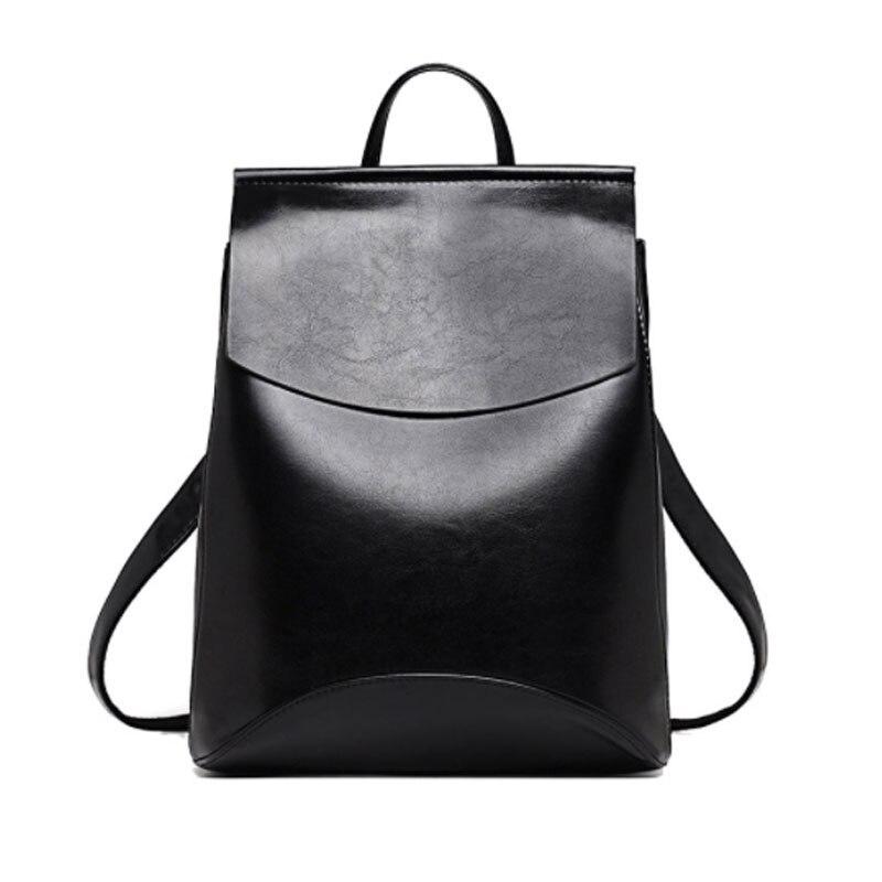 ALCEVR moda mujer mochila alta calidad jóvenes mochilas de cuero para adolescentes niñas escuela bolso mochila