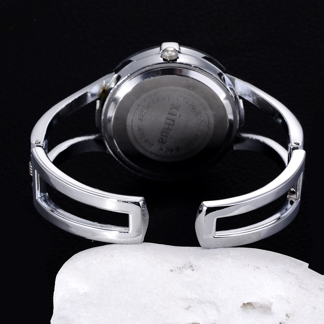 Hot Fashion Full Steel Bracelet Watch Women Watches Luxury Rhinestone Quartz-Watch Hour montre femme relogio feminino relojes