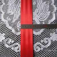 100 meter Roll Seat Belt Webbing Racing Safety Strap Harness Red Color 48mm Wide Accessories for Audi Honda Civic Jazz Accord