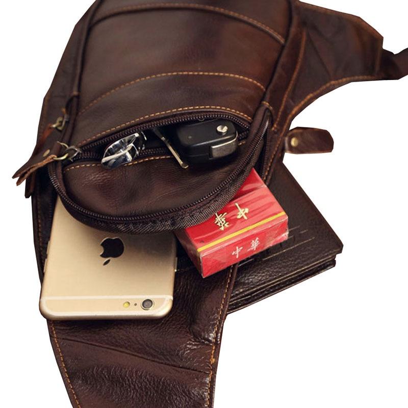 Ανδρική δερμάτινη τσάντα τσάντα με - Τσάντες - Φωτογραφία 5