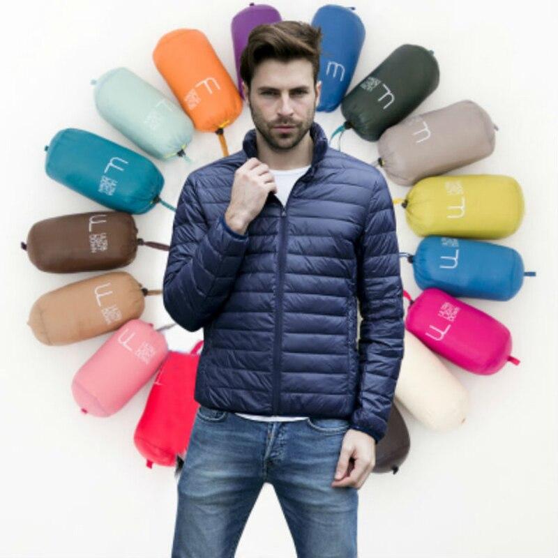 Ördek Aşağı Erkekler Kış Ceket Coat Sıcak Parka Erkekler Ceketler erkek Mont Adam Rahat Parkas Dış Giyim Marka Giyim 11 tarzı