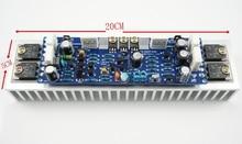 Classe AB L12-2 LJM 55 V 120 W Canal Único Terminou Placa Amplificador de Potência de Áudio Amp com Dissipadores de calor
