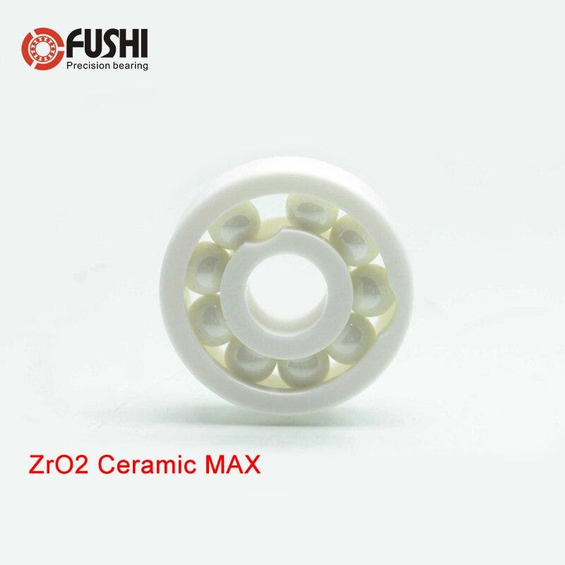 6002 MAX plein roulement en céramique ZrO2 1 PC 15*32*9mm pleine boules 6002 CE roulements à billes en céramique 6002CE