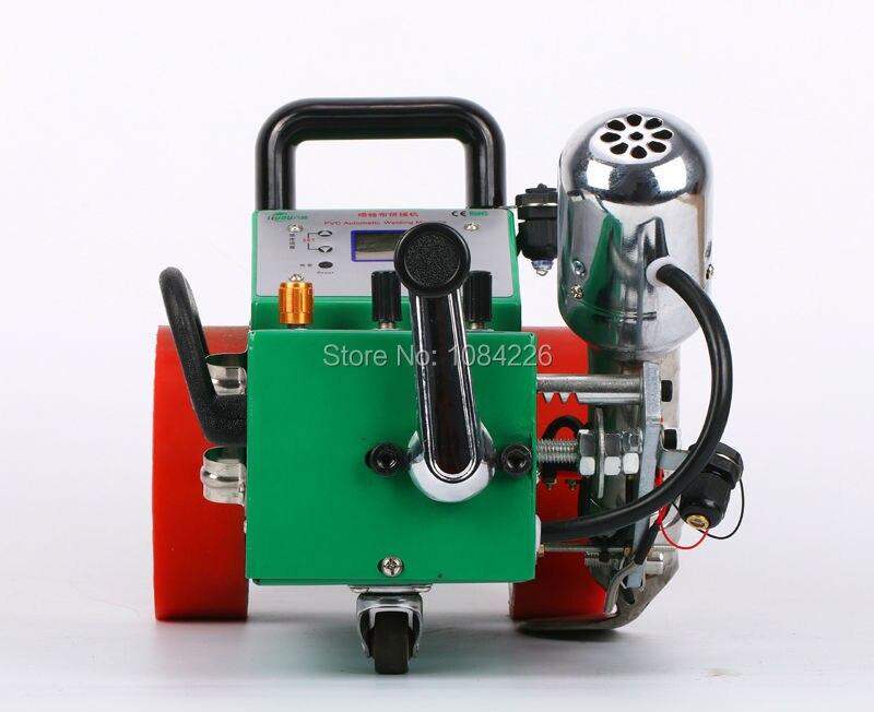 2017 nouveau modèle Automatique machine de soudage à air chaud flex bannière soudeur/laser guide pvc bannière couture machine