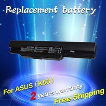 JIGU A31-K53 A32-K53 A41-K53 A42-K53 bateria do portátil para Asus x53s A43 A53s K43 K53 k53s k53U X43 A43B A53B K53B X43B Series
