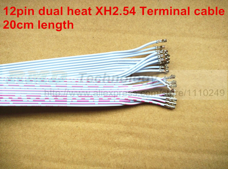 Xh dual head 12pin electronic wire cable double xh2 54 terminal 2 54 dual xr4115 wiring-diagram xh dual head 12pin electronic wire cable double xh2 54 terminal 2 54mm long 20cm 10pcs lot
