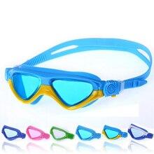 Big Frame Children Kids Teens Professional Anti Fog Waterproof Silicone Swimming Goggles Glasses Water Diving Swim Pool Eyewear