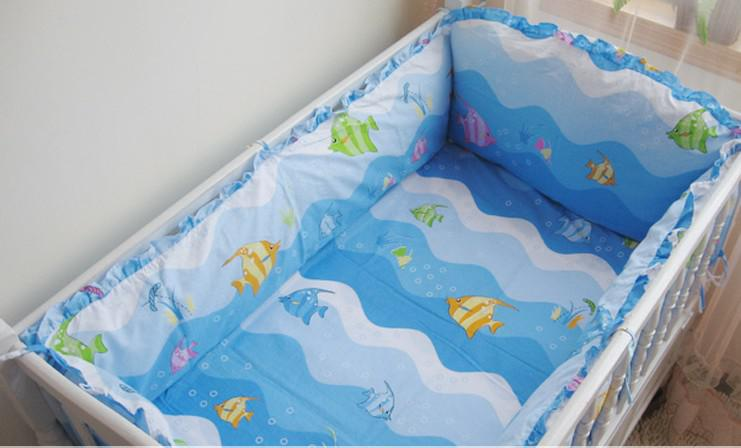 3 Pieces Lovely Baby Crib Bedding Set Cute Animal Lion Deer Tree Baby Bedding Set Cot Sheets Cuna Bumper Ropa De Cuna Kit Berco Be Novel In Design Bedding Sets
