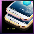 For Samsung S4 phone accessories two-color metal frame for the Samsung protective cover i9500 phone frame