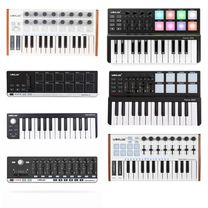 WORLED NEW MIDI Keyboard Controller Mini USB Keyboard MIDI Control MIDI Controller Keyboard Pads 7 Styles for Option(China)
