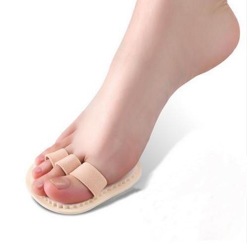 3 Toes Forefoot Socks Liners Pad Hammer Finger Separator for Hallux Valgus Orthotics ending Deformation Overlap Toe Correction