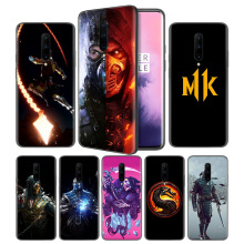 Mortal Kombat Soft Black Silicone Case Cover for OnePlus 6 6T 7 Pro 5G Ultra-thin TPU Phone Back Protective