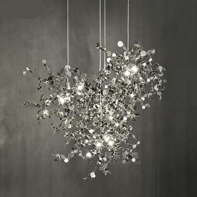 New Zealand Modern Creative Art Stainless Steel Restaurant