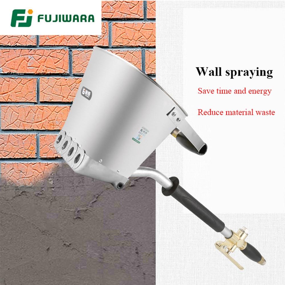 Tools : FUJIWARA 3 5L Pneumatic Cement Mortar Spray Gun Wall Rapid Blasting Mortar Cement Wall Machine Wall A