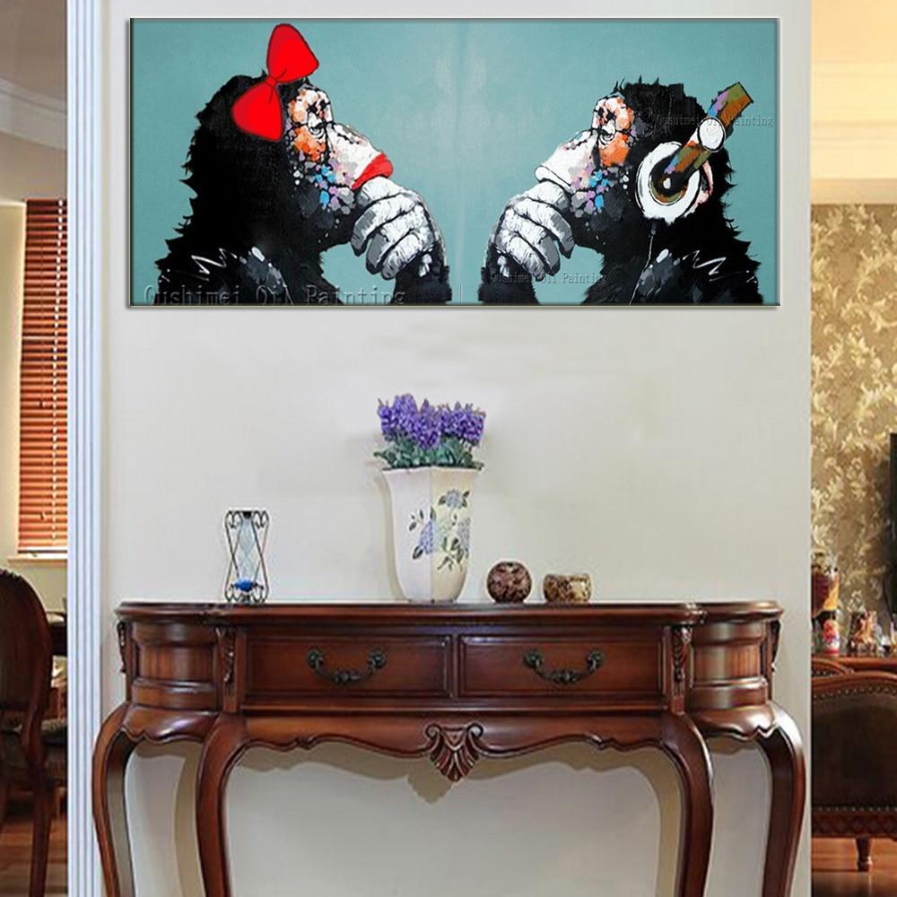 Online Kaufen Großhandel affe kunst bilder aus China affe kunst ...