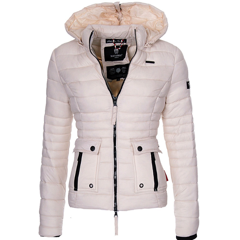 ZOGAA Winter   Parkas   Women's Warmth Coats Puffer Jacket   Parka   Women Fashion Slim Fit Solid Coat Outwear Women's   Parkas   2019