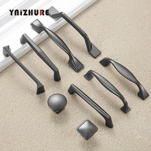 Zinc Alloy Pearl Gray Cabinet Handles Drawer Knobs Kitchen Cupboard Door Pulls Fashion Furniture Handle Cabinet Hardware(China)