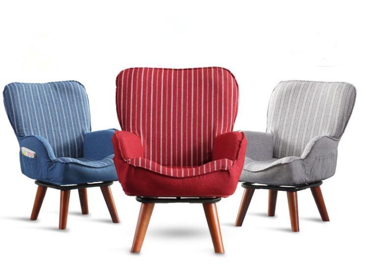 Складной и 360 Поворотный детского стульчика кресло диван для детей деревянные дома Мебель для детской современные дети одноместный диван к