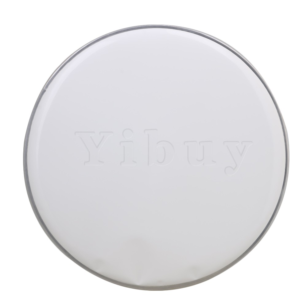yibuy 340mm diameter white polyester single ply drum heads drum skins percussion accessories for. Black Bedroom Furniture Sets. Home Design Ideas