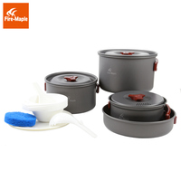 Fire Maple Camping Cooking Set 4 5 Persons Pot Sets Panelas Aluminium Camp Cookware Picnic Outdoor