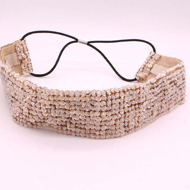 Handmade Braided Hairband Wide Elastic
